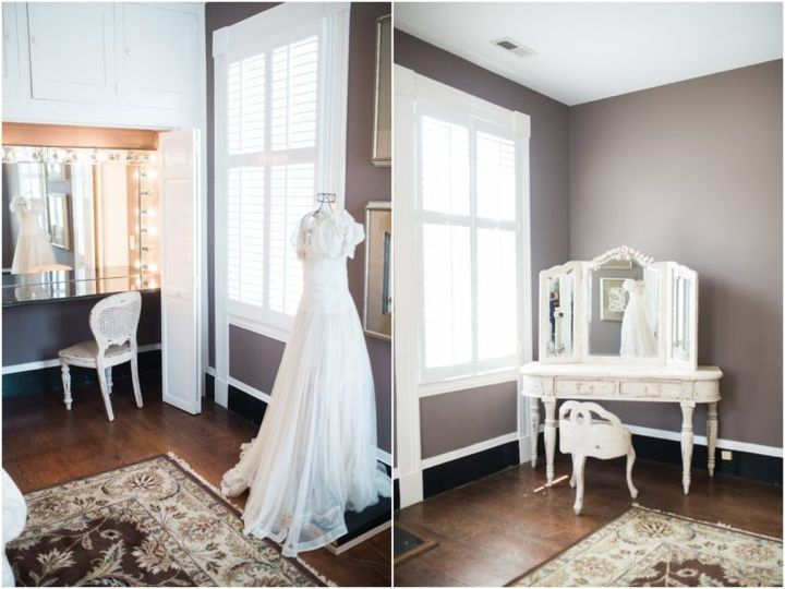 Tmx Brides Room Makeup Counters 51 119875 Wake Forest, North Carolina wedding venue