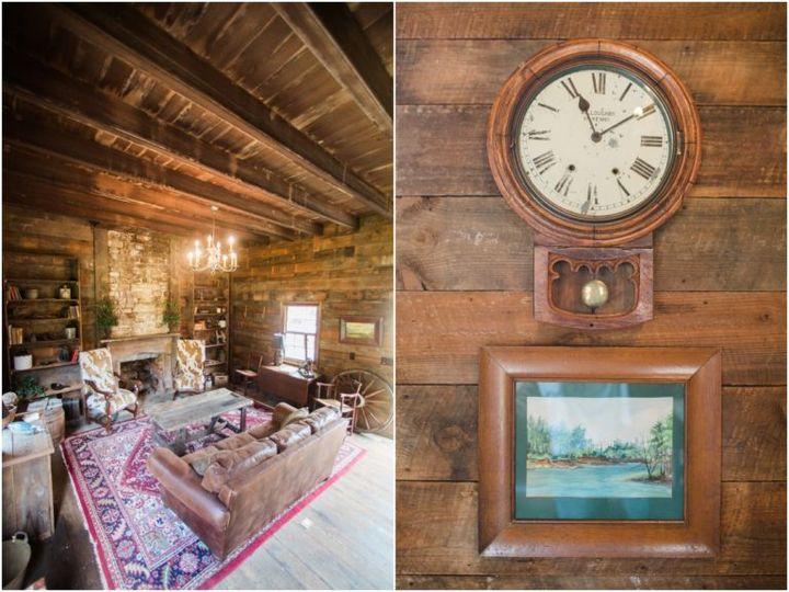 Tmx Clock On Wall 51 119875 Wake Forest, North Carolina wedding venue