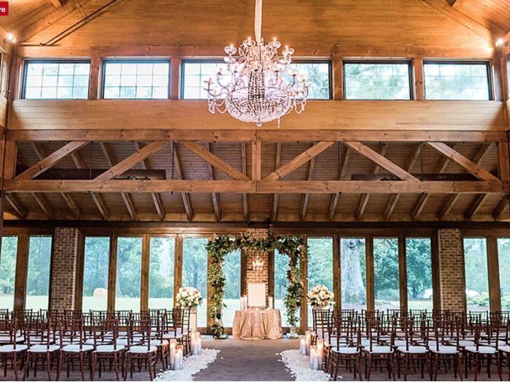 Tmx Full Ceremony Setup In Pavilion 51 119875 Wake Forest, North Carolina wedding venue