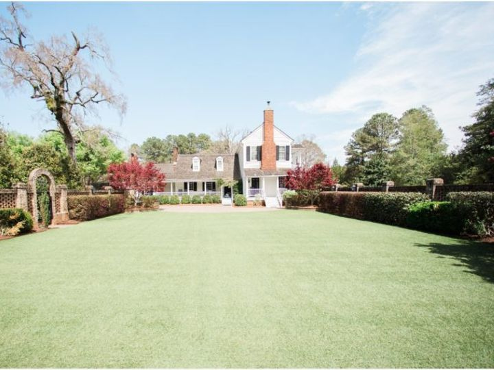 Tmx Garden From Raised Brick Area Facing House 51 119875 Wake Forest, North Carolina wedding venue