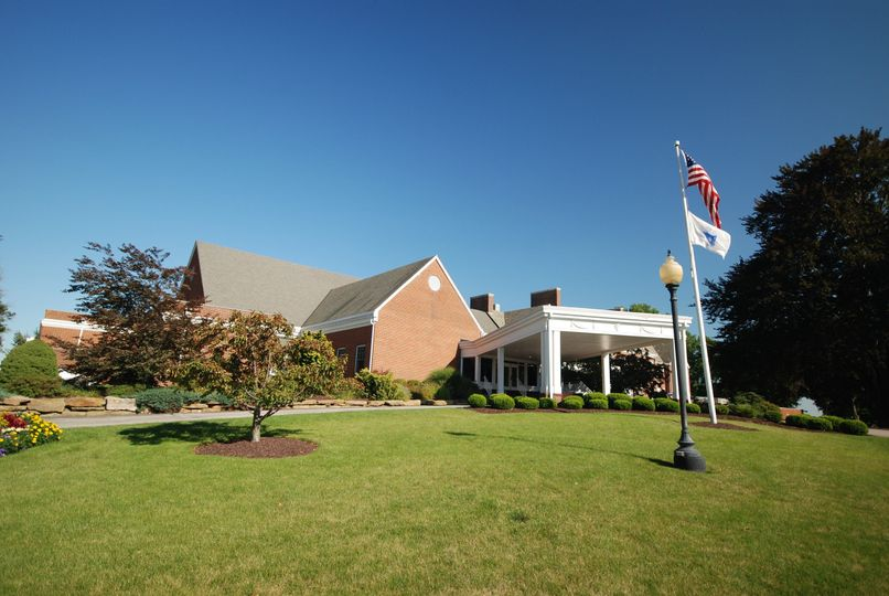 View of the Main Entrance to Clubhouse, and Valet Portico