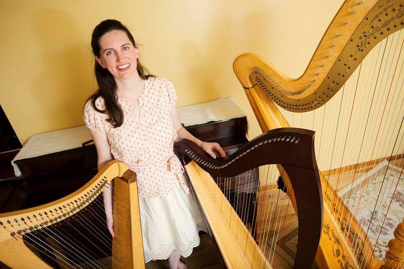 erin wood harpist ceremony music lawrence ks. Black Bedroom Furniture Sets. Home Design Ideas