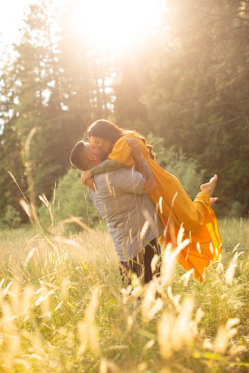 Meadow engagement