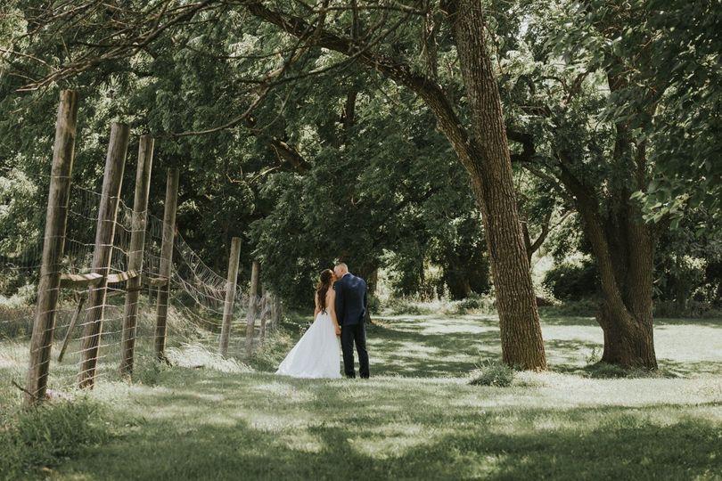Woodland romance