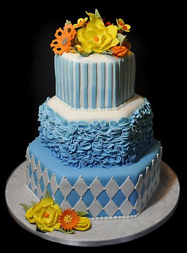 Tmx 1473084737037 Hexweird Norway, ME wedding cake