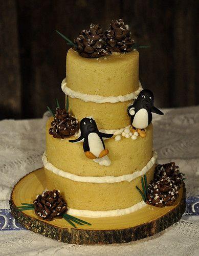 Tmx 1473084777582 Penguinwedding Norway, ME wedding cake