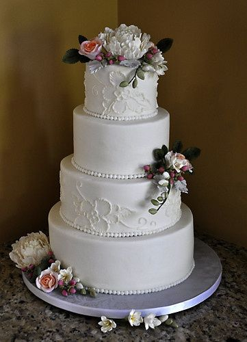 Tmx 1473084793144 Tiltedwedding Norway, ME wedding cake