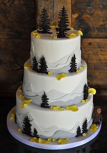 Tmx 1473084816864 Yetiwedding Copy Norway, ME wedding cake