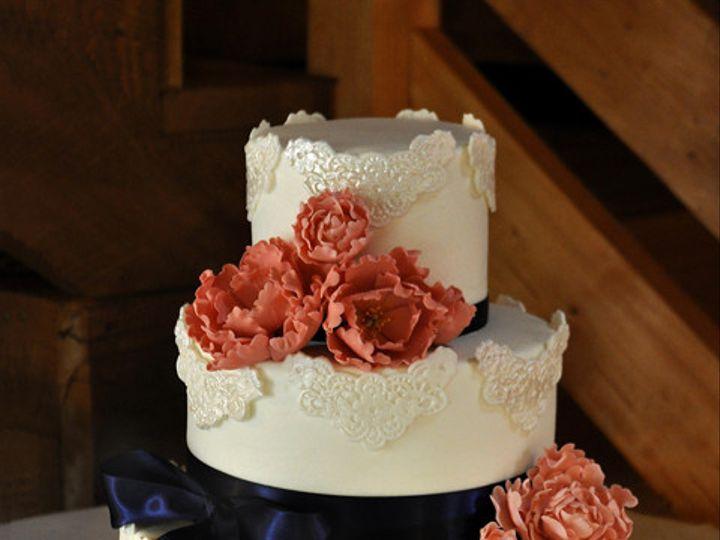 Tmx 1473084869673 Blubowwedding Norway, ME wedding cake