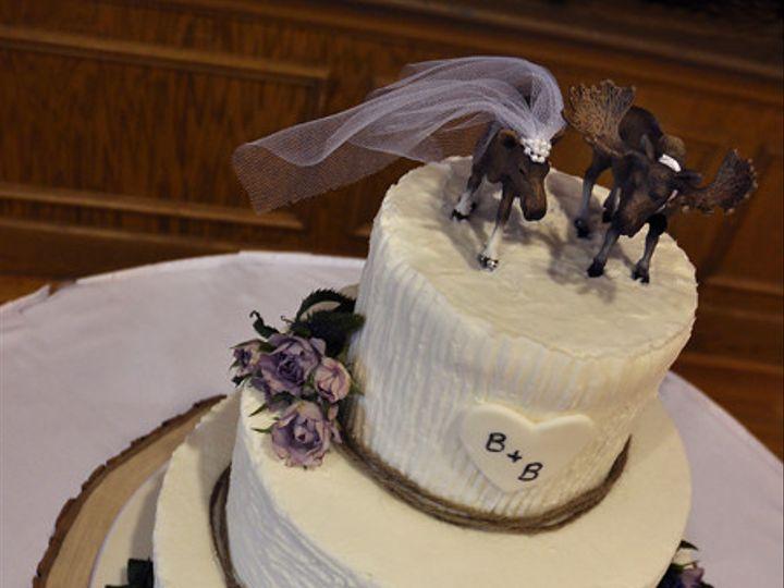 Tmx 1473084938257 Moosebbwedding Norway, ME wedding cake