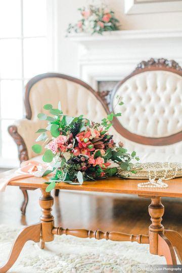 White Victorian Sofa