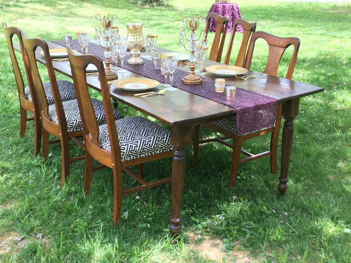 Tmx 1463595402093 Farm Table Charlotte, North Carolina wedding rental