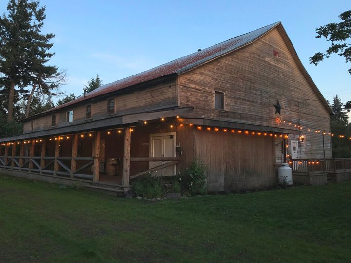 Barn Deck and Rear