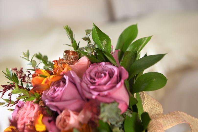 Bridal Bouquet in purple