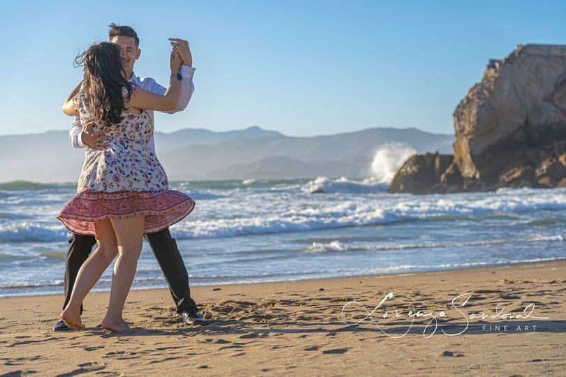 A Dance on The Beach
