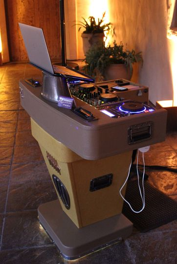 Carmel Wedding DJ Setup