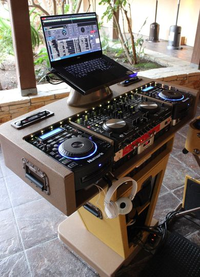 Monterey Wedding DJ Setup