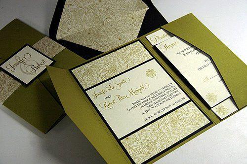 Tmx 1310059657491 Citronretpocketfold2 Denver wedding invitation