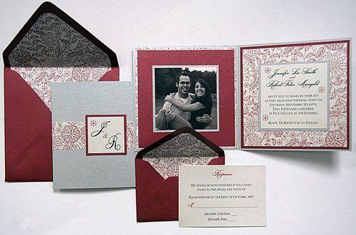 Tmx 1310059711991 Foldedcardcransilveremily Denver wedding invitation