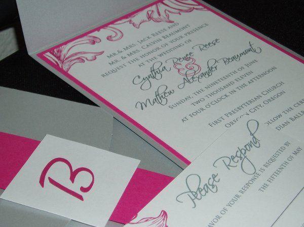 Tmx 1310059770179 P1010033 Denver wedding invitation