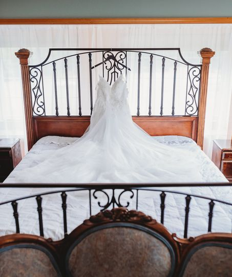 Private bridal suite
