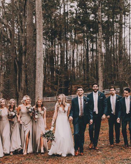 Kennedy Blue Real Wedding