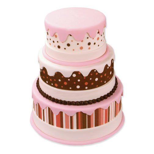 Tmx 1213752211168 Wedding Pink Stack Cover%281%29 Wingdale wedding cake