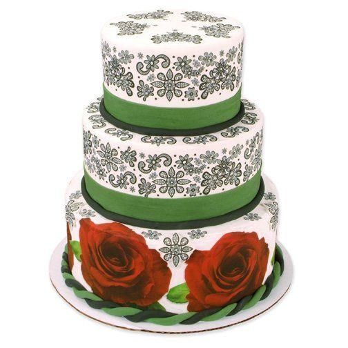 Tmx 1213752464465 WeddingBC.rose Lace Wingdale wedding cake