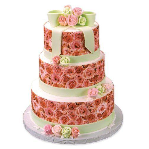 Tmx 1213752503980 Wedding Rose Tier Wingdale wedding cake