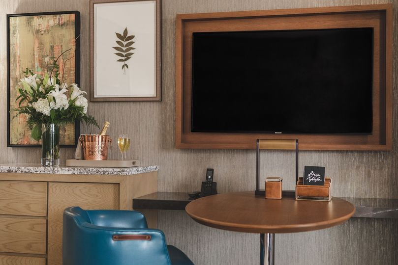 Guest room TV