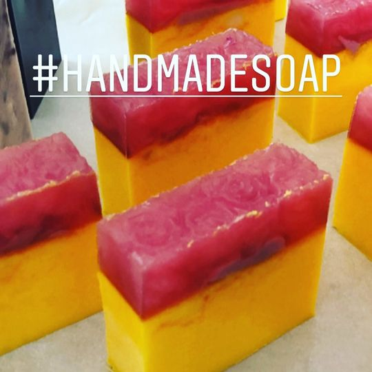 All soaps are handmade