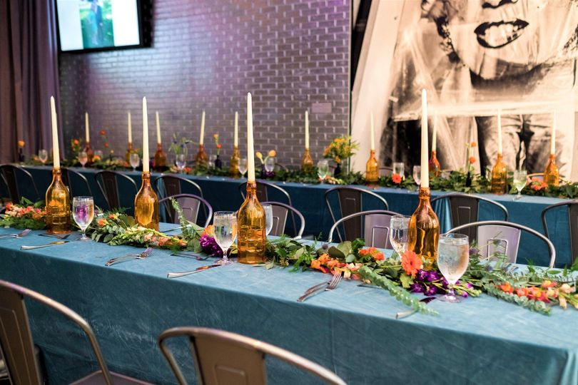 Banquet Style Seating
