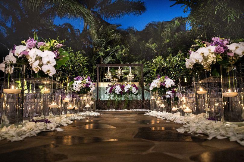Twilight ceremony in the kula wai