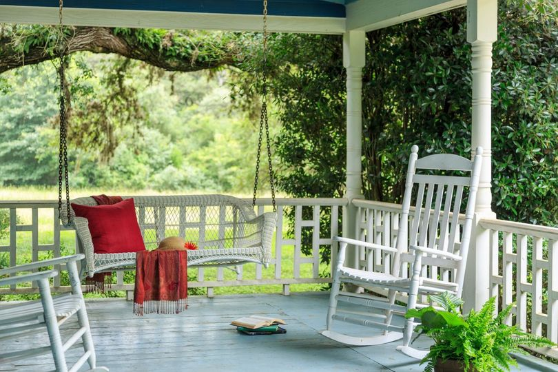 BlissWood Private Porch