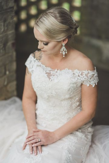 Andrea bridal portrait