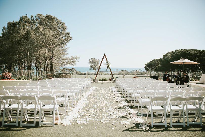 Ceremony set up complete