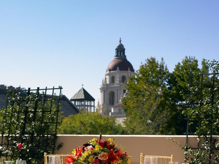 Tmx 1474295745997 Terrace Setting Pasadena, CA wedding venue