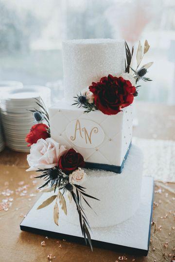 Zingerman's cake with DtM flow