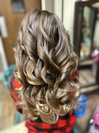 Simple Style with Curls