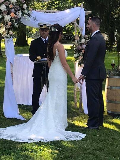 A special ceremony