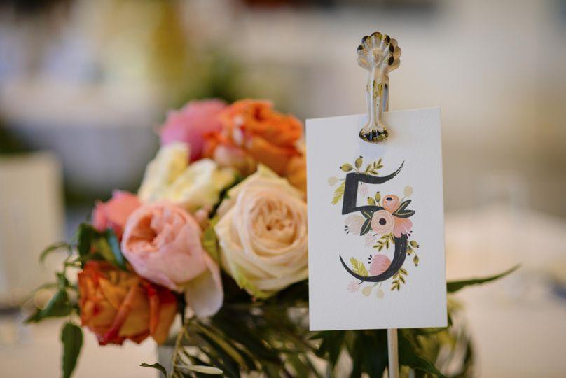 Table tag design