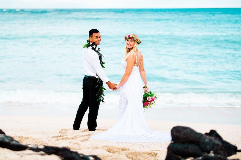 Kailua-Kona Beach Weding