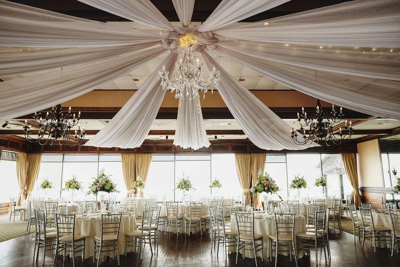 Wedding reception Rusty Pelican