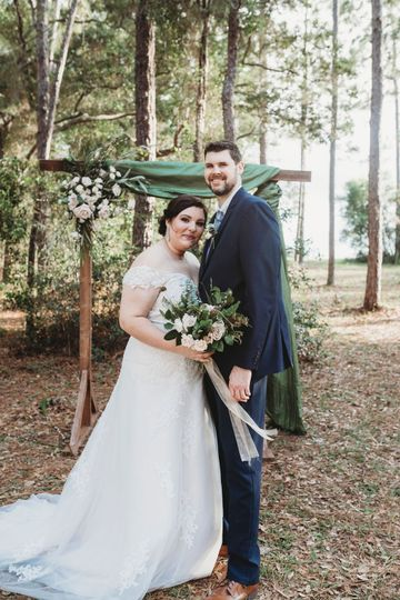 Natural style wedding