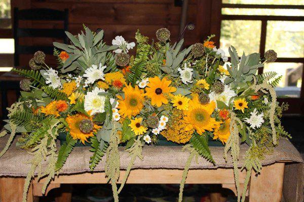 Wildflower Centerpiece