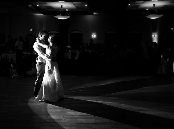 first dance signature banquets black and white bru