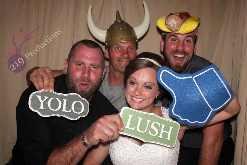 munster wedding photo booth