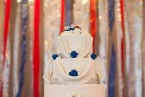 Ladybug Blue Cake Design