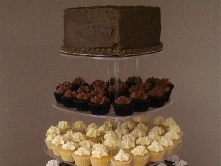 Tmx 1376329345592 Cupcake Stand Lebanon wedding cake