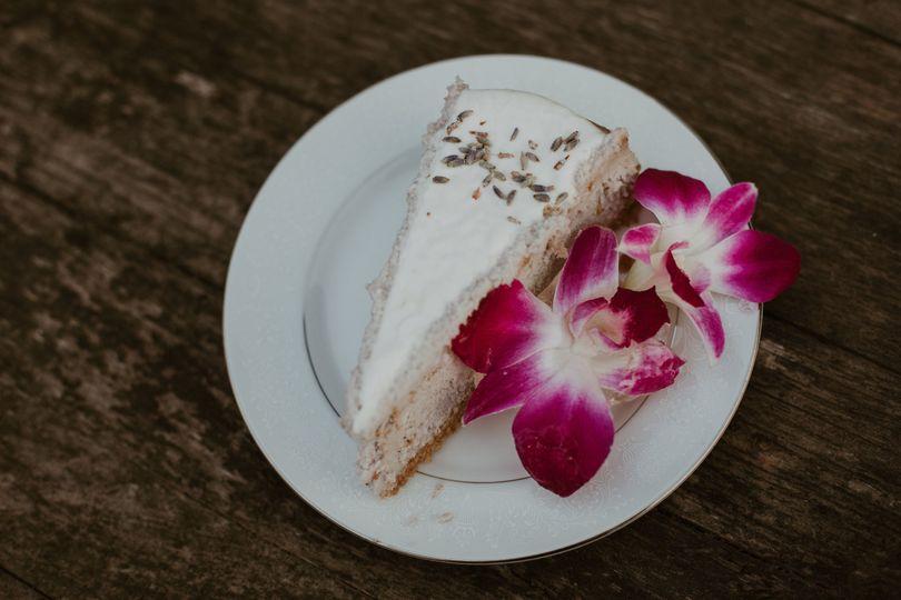 Lavander Cheesecake